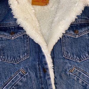 Levi's Faux Fur Lined Denim Jacket